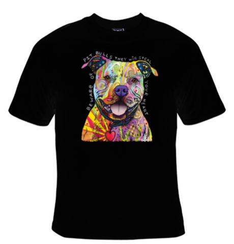 Beware of Pitbulls - They Will Steal Your Heart T-Shirt Women's - Life Rush Apparel