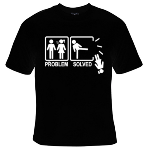 Problem Solved T-Shirt Women's - Life Rush Apparel