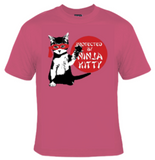 Protected By Ninja Kitty T-Shirt Women's - Life Rush Apparel