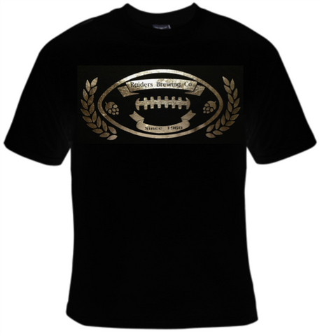 Raiders Brewing Company Football T-Shirt Men's - Life Rush Apparel