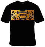 Rams Brewing Company Football T-Shirt Women's - Life Rush Apparel