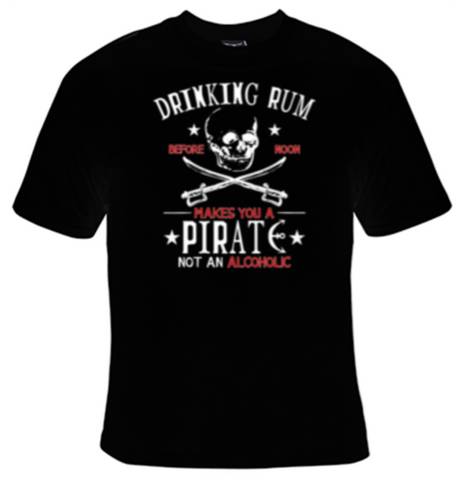 Rum Pirate T-Shirt Men's - Life Rush Apparel