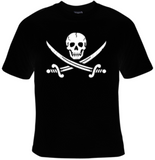 Skull & Swords Pirate T-Shirt Women's - Life Rush Apparel