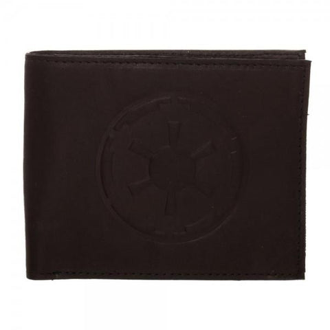 Star Wars Empire Leather Bi-Fold Wallet - Life Rush Apparel