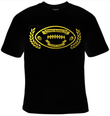 Steelers Brewing Company Football T-Shirt Women's - Life Rush Apparel