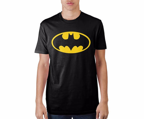 Batman Logo Black T-Shirt - Life Rush Apparel
