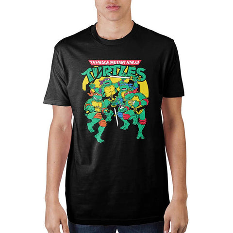 Mens Classic Teenage Mutant Ninja Turtles  T-Shirt - Life Rush Apparel