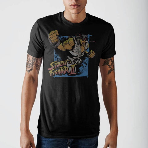 Street Fighter 2 Mens T-Shirt - Life Rush Apparel