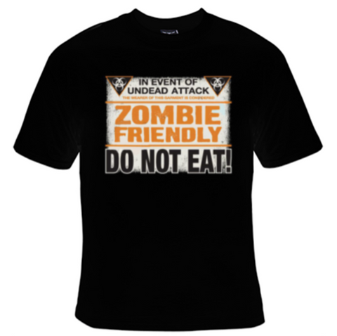 Zombie Friendly T-Shirt Men's - Life Rush Apparel