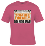 Zombie Friendly T-Shirt Women's - Life Rush Apparel
