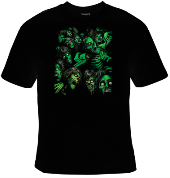 Zombie Pile T-Shirt Women's - Life Rush Apparel