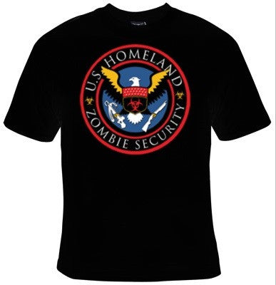 U.S. Homeland Zombie Security T-Shirt Men's - Life Rush Apparel