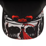 RWBY Sublimated Bill Snapback - Life Rush Apparel