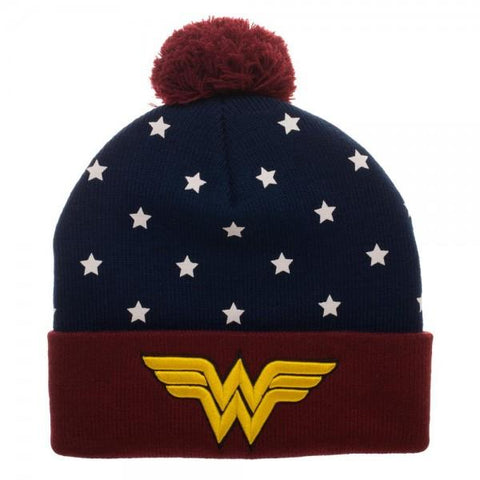 DCO Wonder Woman Navy Red Gold JRs Cuff - Life Rush Apparel