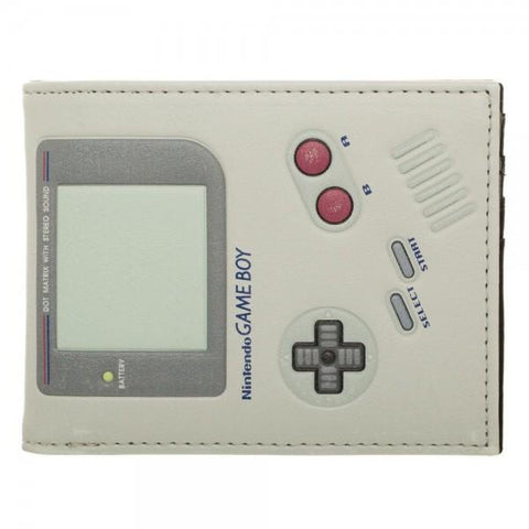 Nintendo Game Boy Bi-Fold Wallet - Life Rush Apparel