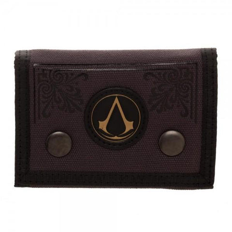 Assassin's Creed Canvas Tri-Fold Wallet - Life Rush Apparel