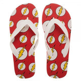 DC Comics Flash Unisex Flip Flops - Life Rush Apparel