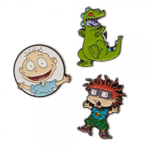 Rugrats Lapel Pin 3 Pack - Life Rush Apparel