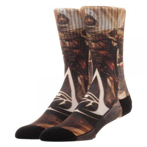 Assassins Creed Origins Sublimated Socks - Life Rush Apparel