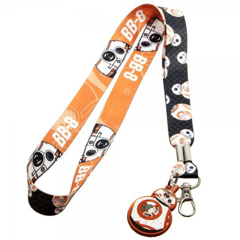 Star Wars 7 BB8 Lanyard - Life Rush Apparel