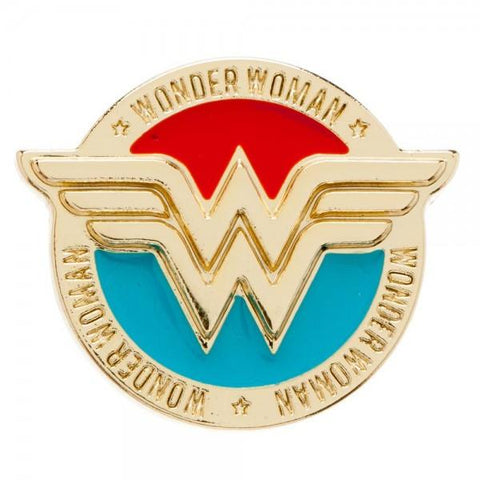 DC Comics Wonder Woman Lapel Pin - Life Rush Apparel
