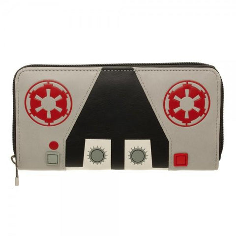 Star Wars AT-AT Driver Zip Around Wallet - Life Rush Apparel