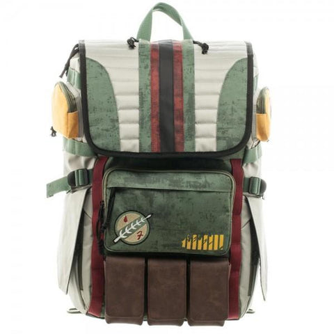 Star Wars Boba Fett Laptop Backpack - Life Rush Apparel