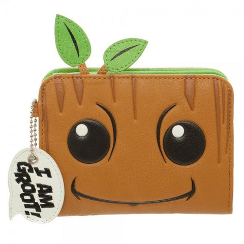 Guardians of the Galaxy Groot Zip Wallet - Life Rush Apparel