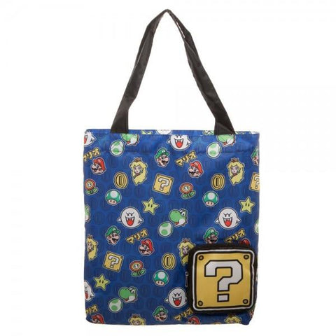 Super Mario Brothers Packable Tote - Life Rush Apparel