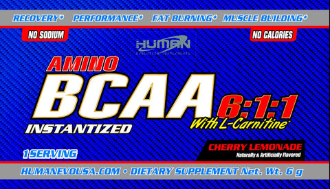 BCAA 6:1:1 Cherry Lemonade 5 day trial (5 samples)