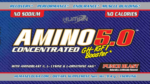 Amino 5.0® 5 day trial (5 samples)