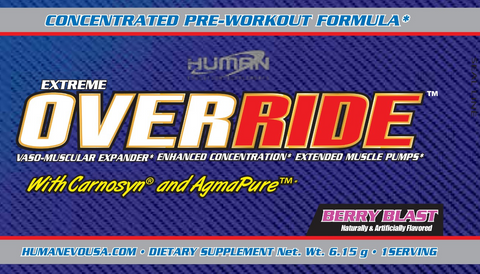 Extreme Override® 5 day trial (5 day sample)