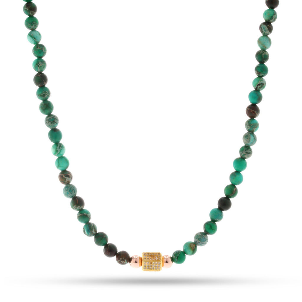 The Malachite Necklace of Absorption