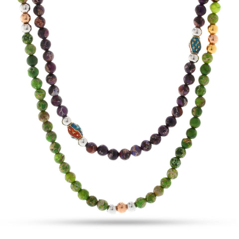 The Garnet Necklace Set of Companionship