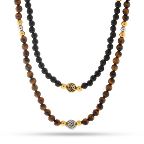 The Autumn Necklace Set of Balance