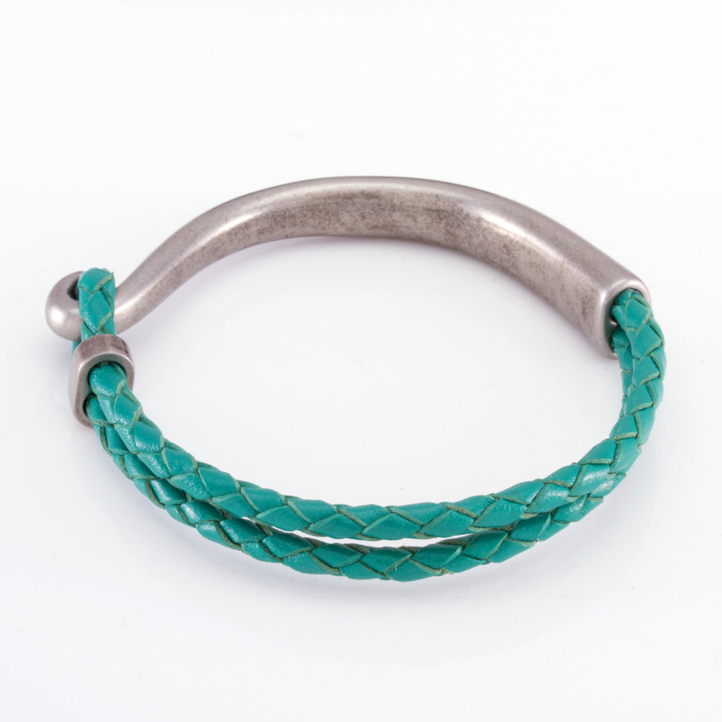 The Turquoise Hook (Silver)