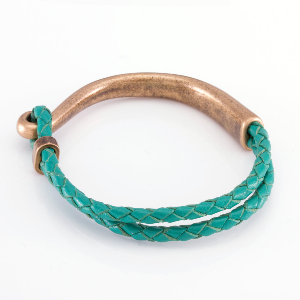 The Turquoise Hook (Gold)