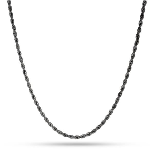 Run DMC Black Rhodium Dookie Chain