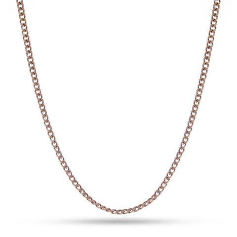 3mm Link Chain - Gold
