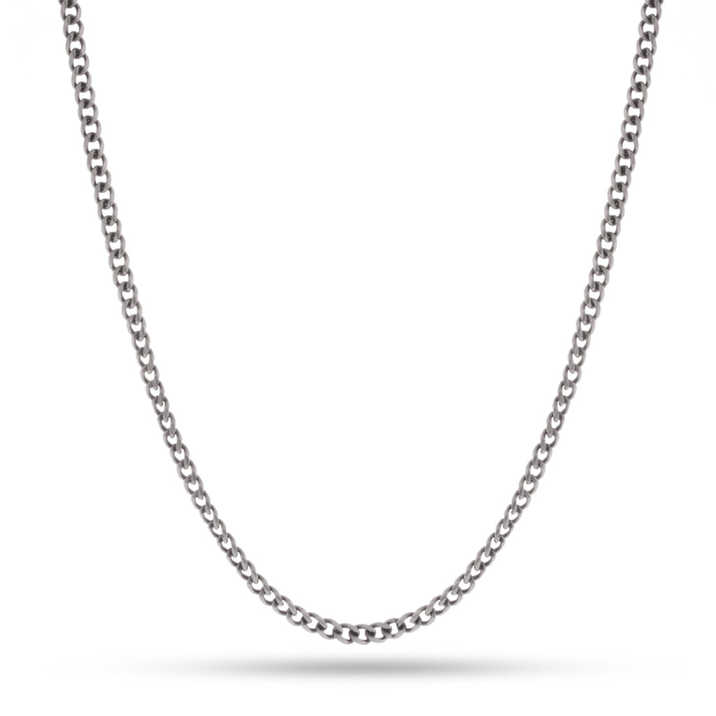 3mm Link Chain - Silver