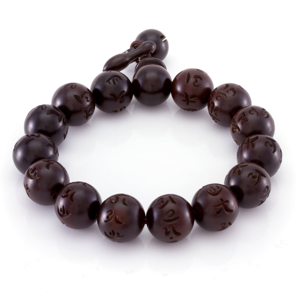 The Round Chinese Wood Bead Band