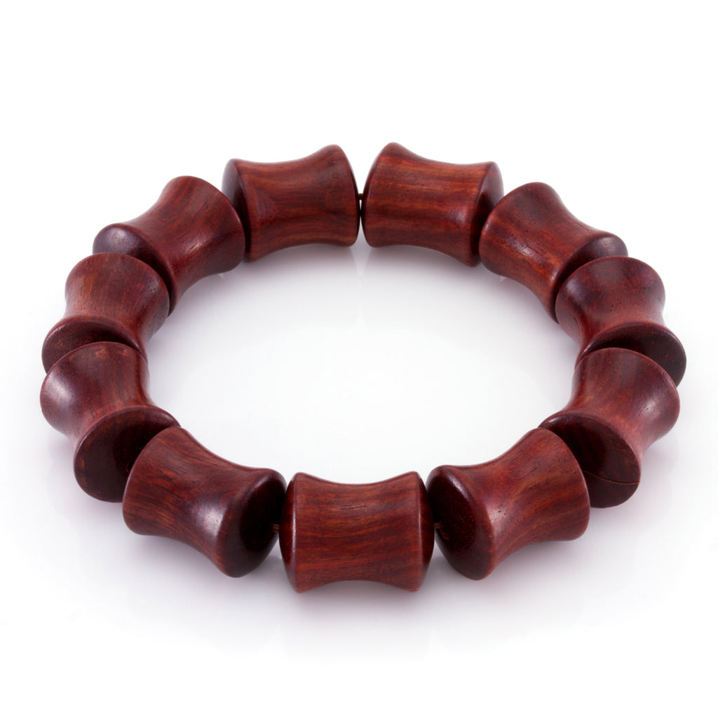The Red Mahogany Bracelet