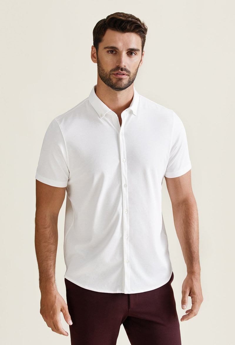 peruvian cotton polo shirt for men