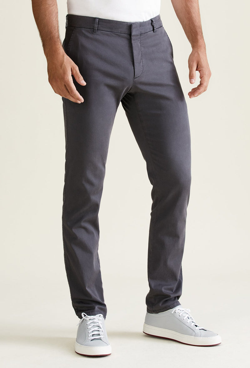 men's dark grey chino pants