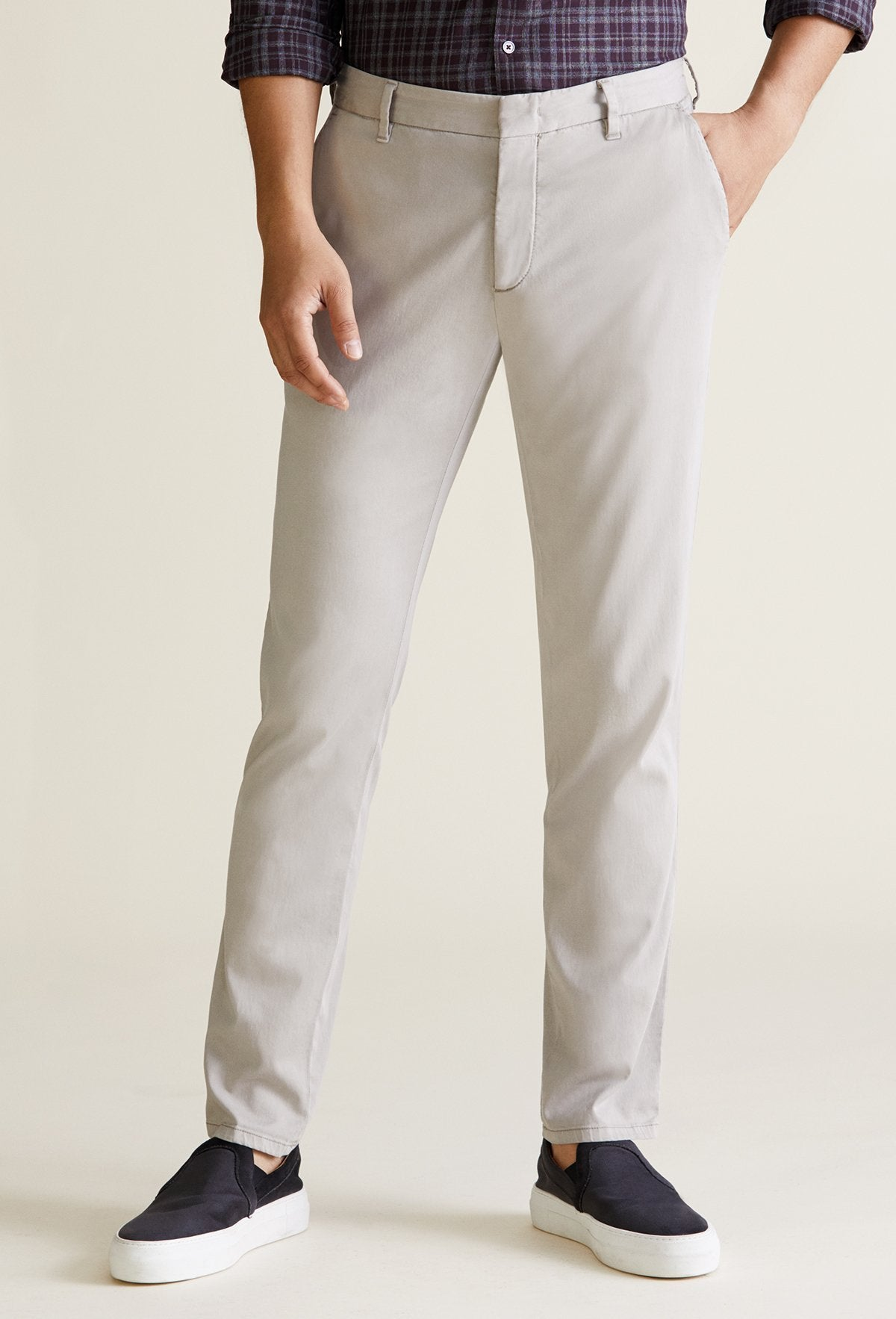 men's dark stone chino pants