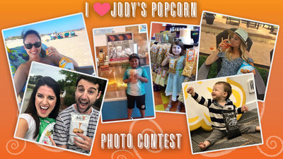 Do you love Jody's Popcorn? Show us and get a chance to win BIG!!