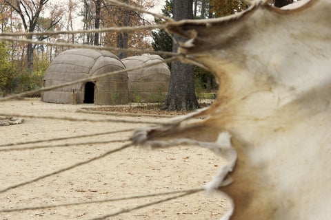 Native American Wigwam at Historic Jamestown