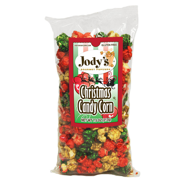 Christmas Candy Corn Popcorn