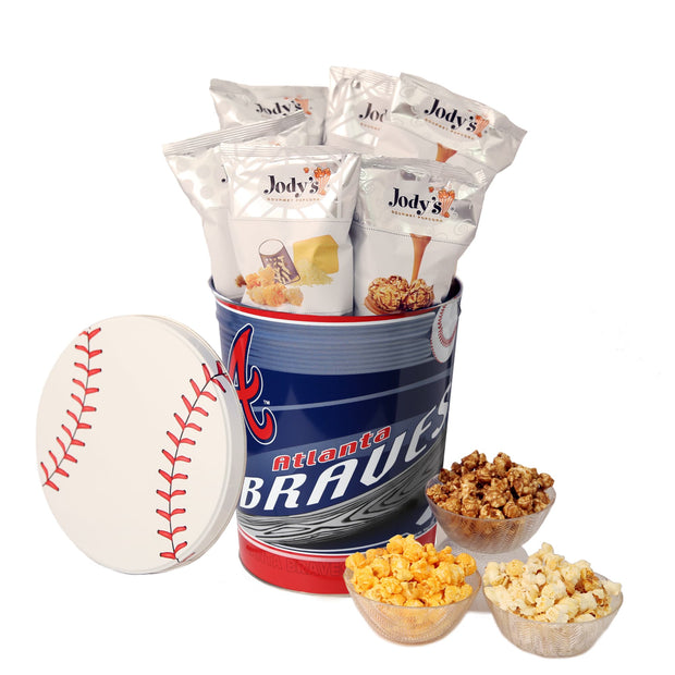 Atlanta Braves Popcorn Tin