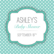 Baby Event Custom Label 3